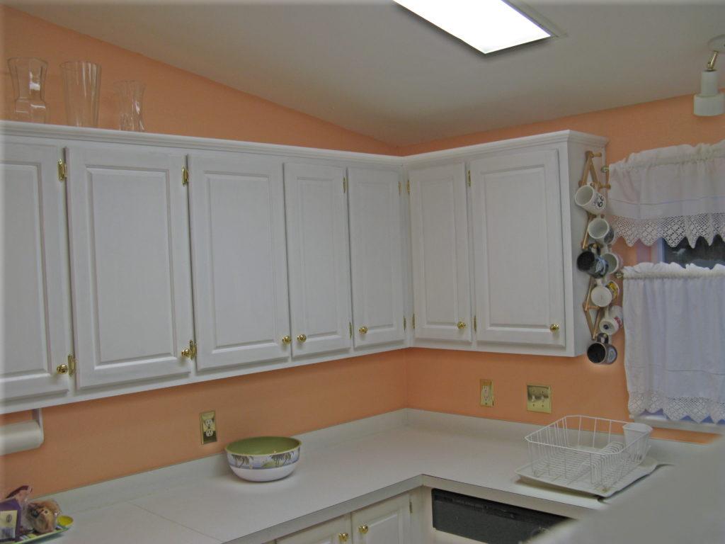 цвет стен персиковый фото