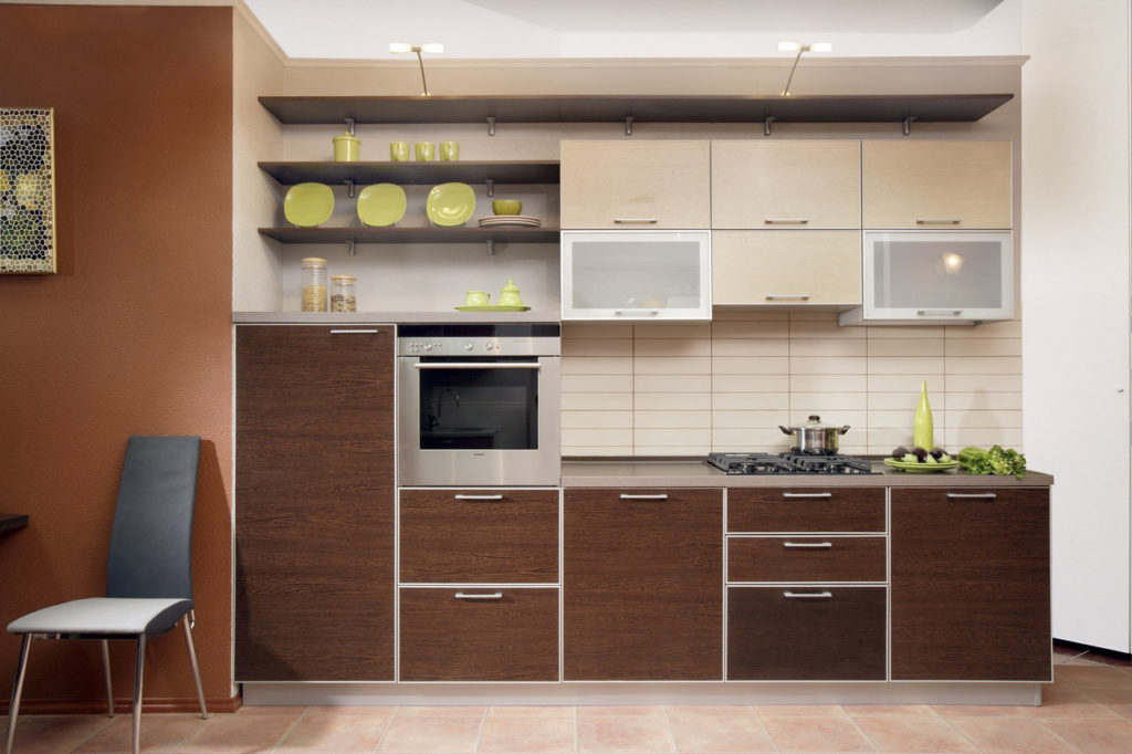замена фасадов старой кухни