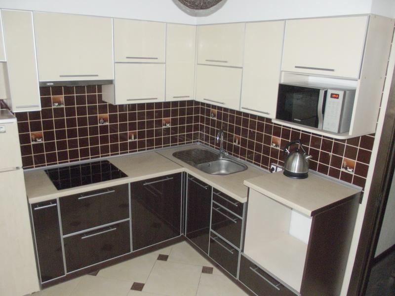 замена фасада кухонной мебели