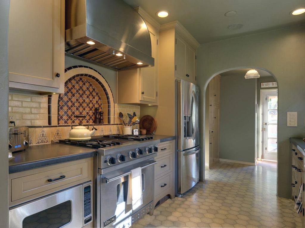 кухни без окна дизайн фото