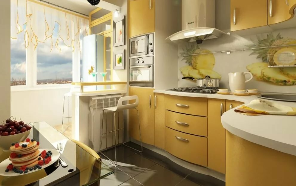 кухня в панельном доме