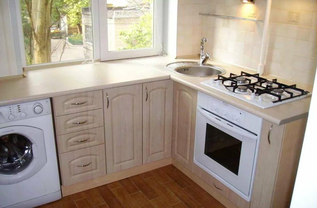 кухня в 9 этажном панельном доме фото