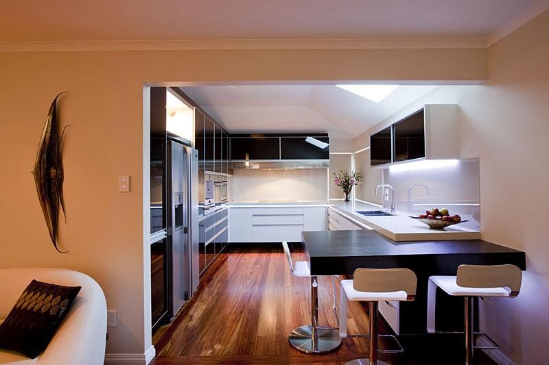 кухня без окна в квартире дизайн
