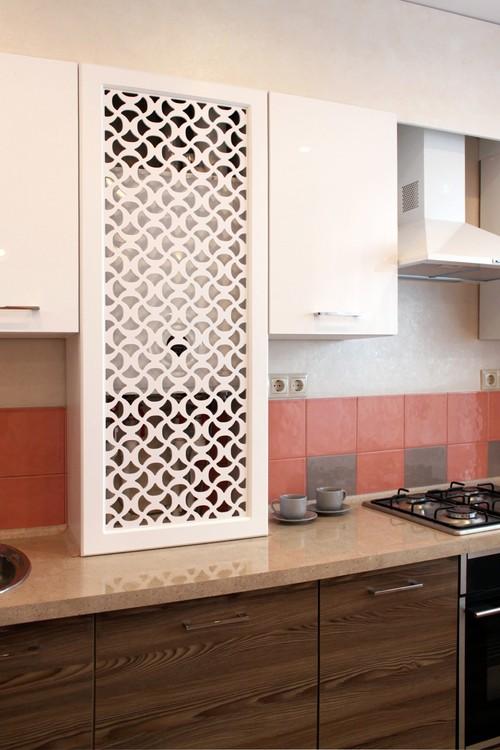 кухни с газовой колонкой