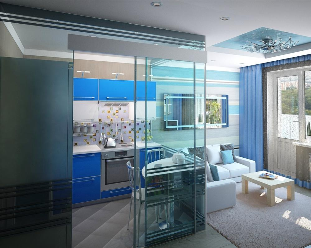 кухня без окна в квартире дизайн фото