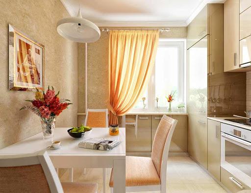 светло персиковый цвет стен
