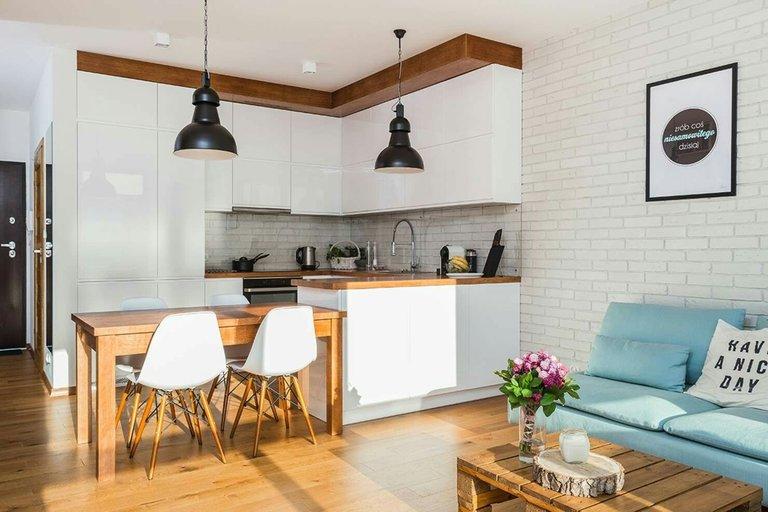 кухня гостиная планировка