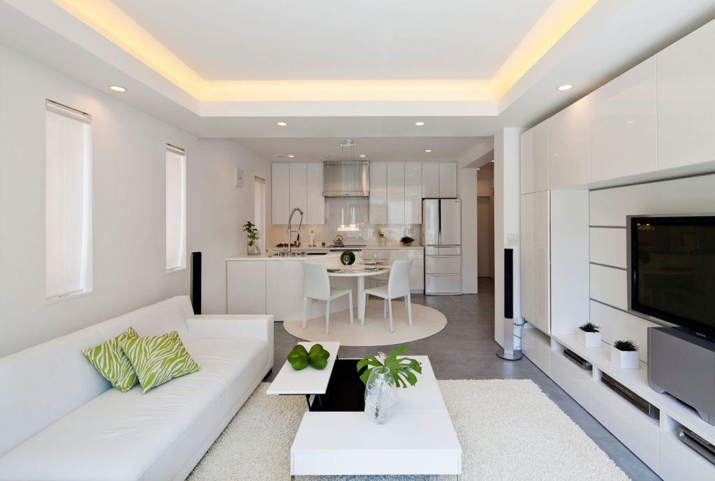 кухня гостиная 18 кв м дизайн фото