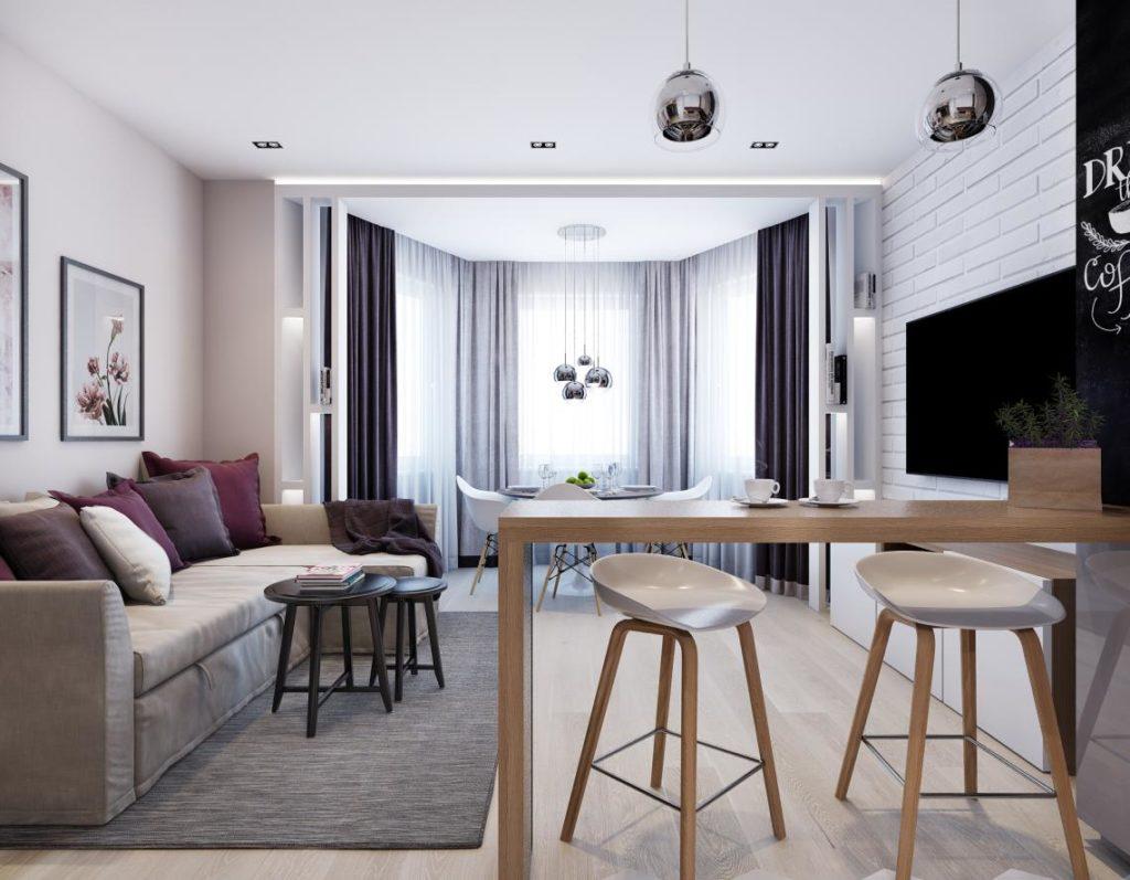 дизайн квартиры студии 18 кв м