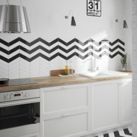 Белый фартук для кухни — акцент на свежести и опрятности, 80+ лучших фото интерьеров кухни с белыми фартуками