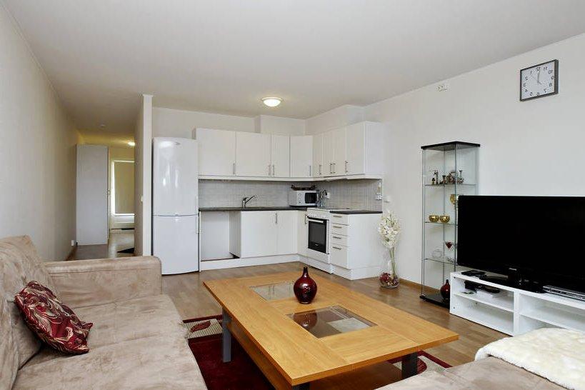 дизайн кухни студии совмещенной с гостиной