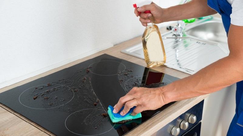 чем мыть стеклокерамическую варочную панель