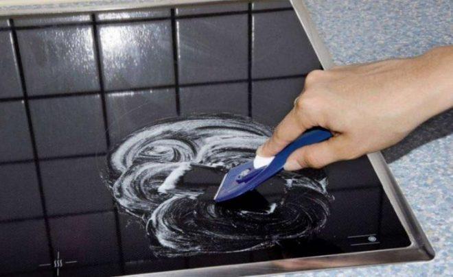 средство для стеклокерамики