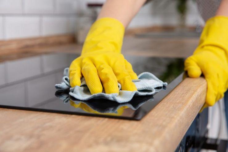 средство для чистки стеклокерамических плит