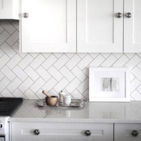 Плитка кабанчик для кухонного фартука – преимущества, современные варианты дизайна, лучшие 150+ фото фартуков