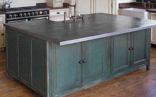 как крепить столешницу к кухонным напольным шкафам