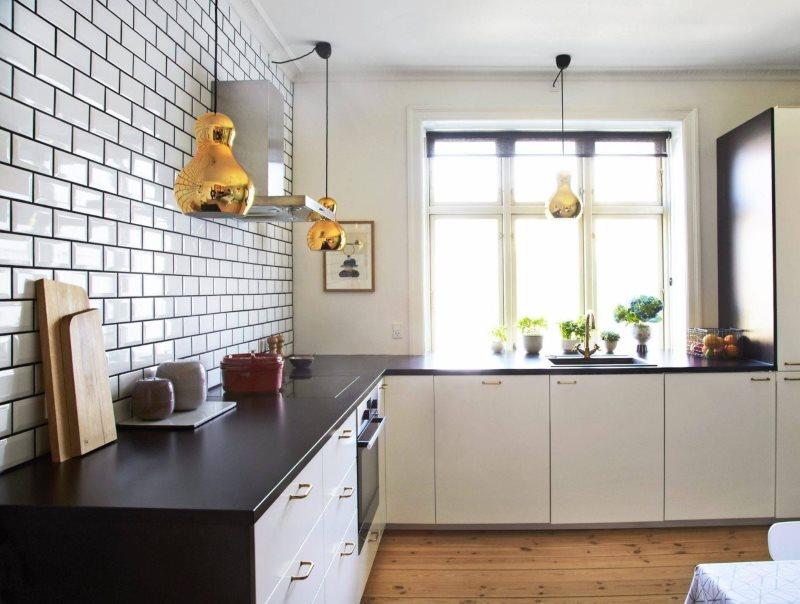 плитка на кухню фартук