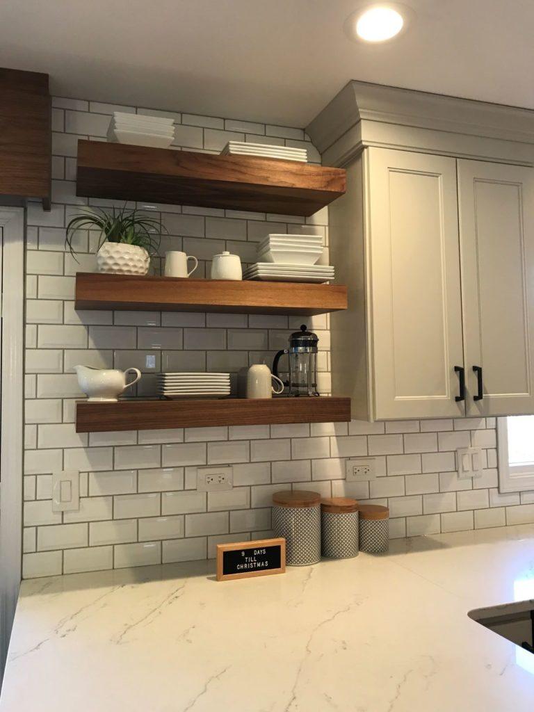 плитка кабанчик на фартук кухни