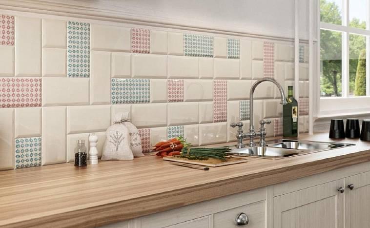 плитка для фартука на кухню
