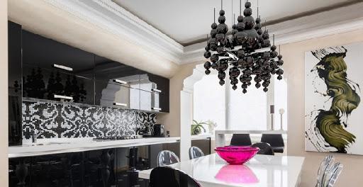 люстра на кухню подвесная над столом