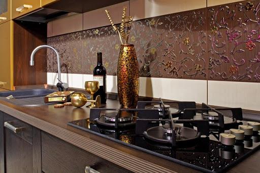 фартуки для кухни из плитки