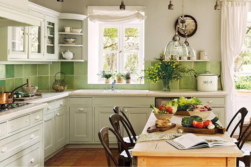 плитка для фартука на кухне