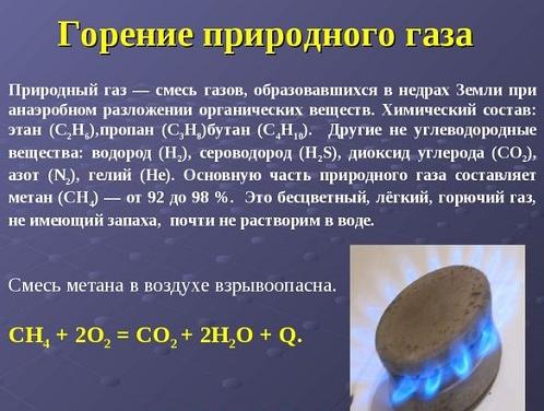 красный газ