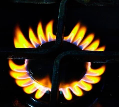 газ горит красным цветом что это значит