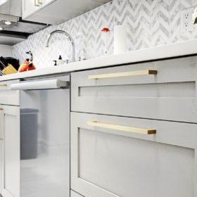 Подбираем ручки для кухонного гарнитура — что лучше скрытые или обычные?