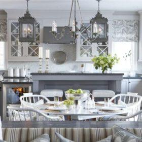 Серая кухня в интерьере: фото, идеи цветовых сочетаний, дизайн кухни в серых тонах