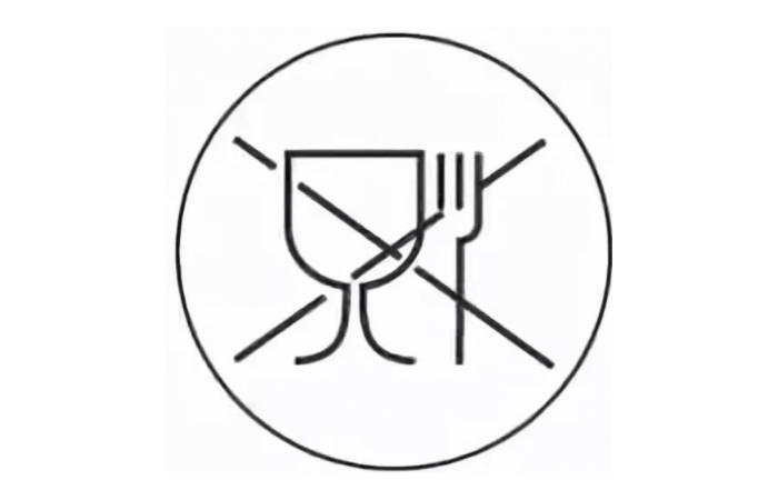 обозначения на посуде