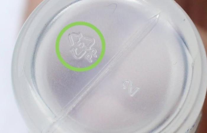 знак на посуде для микроволновки