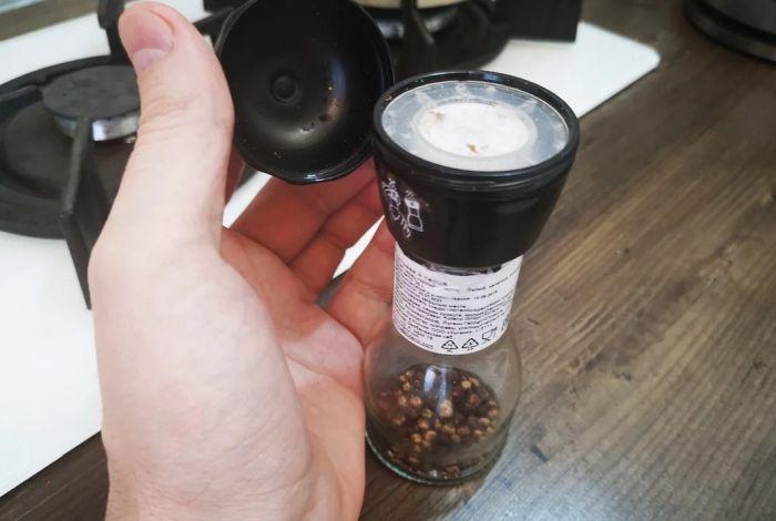 как разобрать мельницу для перца kotanyi