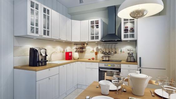 свет на кухне дизайн